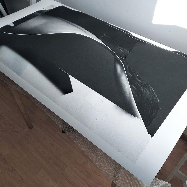 Print 70 100 cm Permeation Gicl - cityabyss | ello