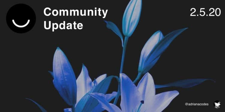 Community Update 2/5/2020 Today - elloblog | ello