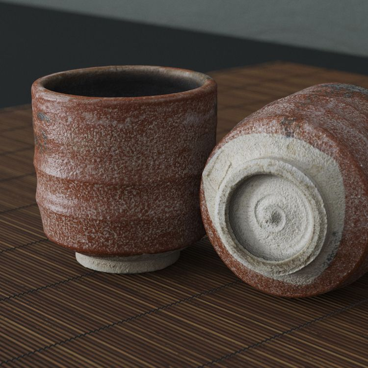 3D Scan - Japanese Tea Cup work - andreasmass | ello