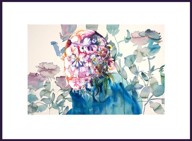 70x100cm Ink#arylics Artist Edi - poespas | ello