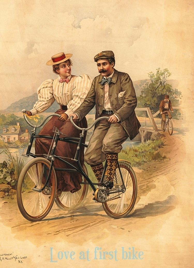 couple bicycling side bicycle d - bicyclesrecycle | ello