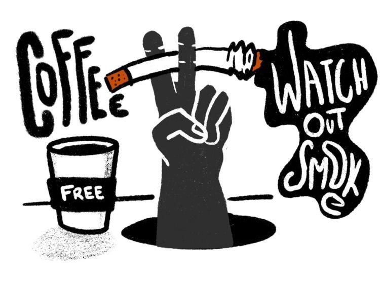 Watch - coffee, smoke, quit, smoking - rodzarain | ello