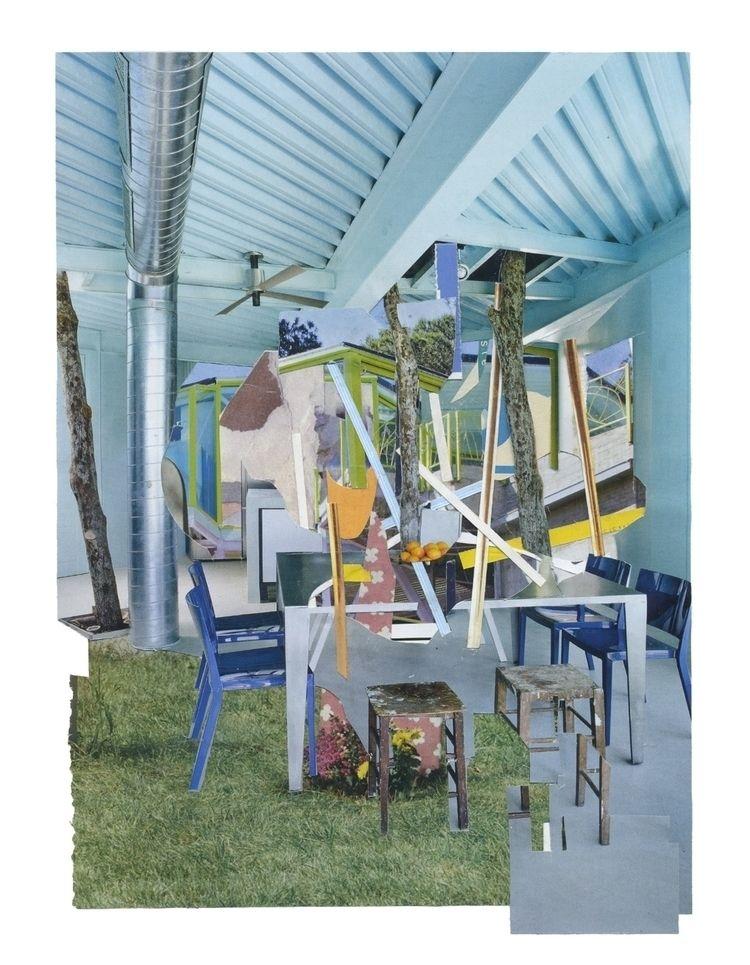 Living Space 1 Paper collages 2 - laurentseljan | ello