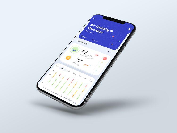 friends, showing app concept wo - tranmautritam | ello