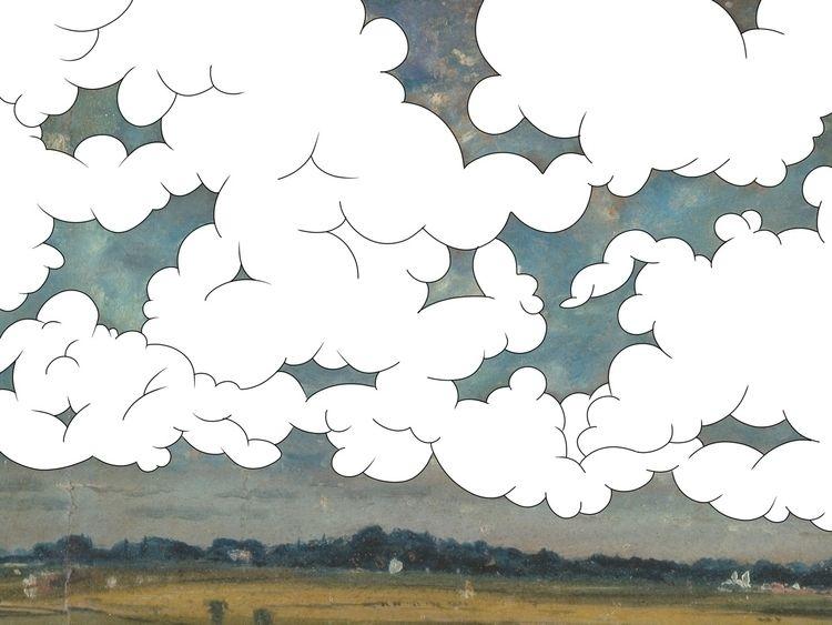 "series ""sky"" painted romantic J - the_alien_astronaut | ello"
