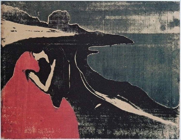 Edvard Munch , Melancholy II, 1 - omtanke | ello