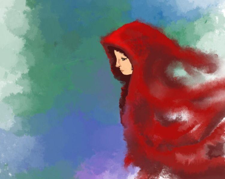 Red Riding Hood - Illustration  - anne15 | ello