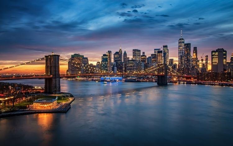 Brooklyn Bridge- York icon Brid - davecurry8 | ello