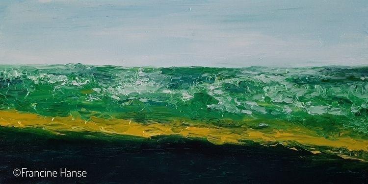 ik zie de zee. zee ziet mij dag - hansopje   ello