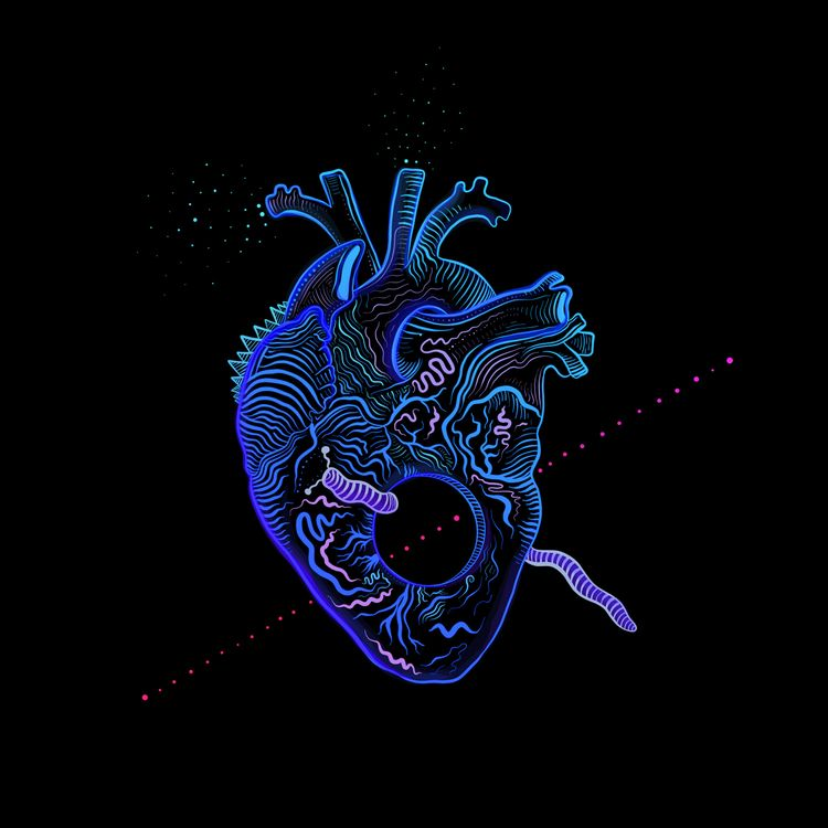 Shape Heart, 2020 // Album cove - brokoola   ello