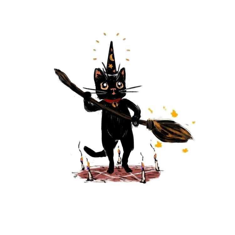collection cats - illustration, characters - morrowingsart | ello