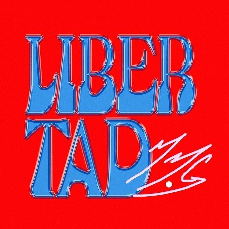 Libertad - typo, typographic, type - wallendiaz   ello