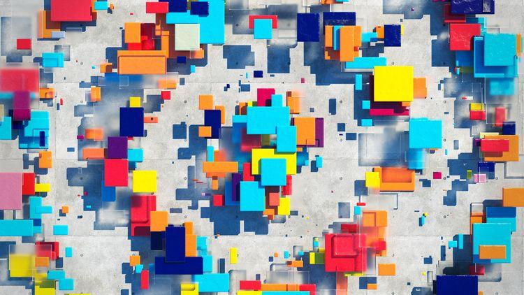 3D stuff fun - modo, design, abstract - yuyatakeda | ello