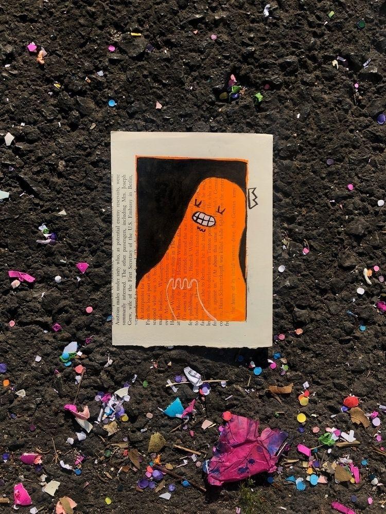 cool feeling - illustration, acrylic - hopeazul | ello