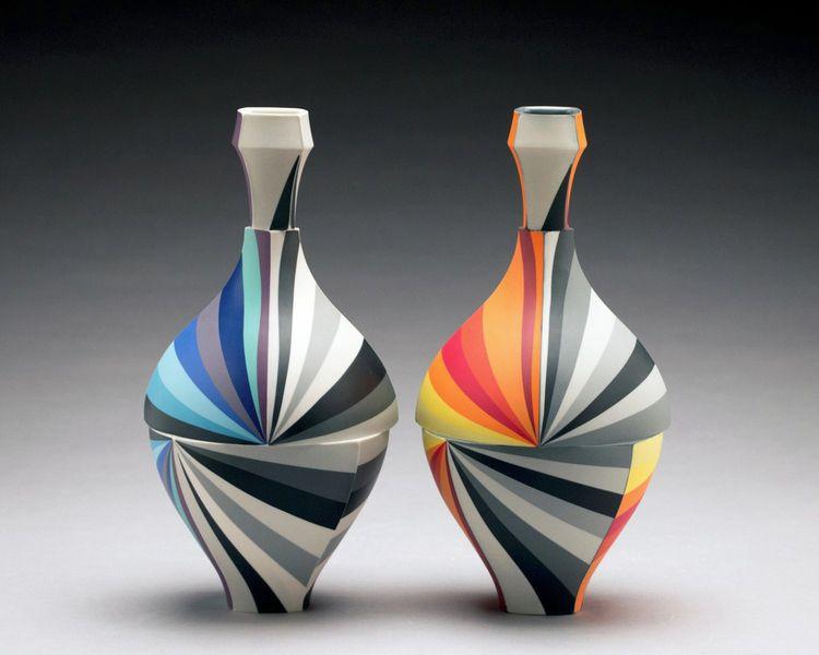 Peter Pincus - Bottle Pair, Con - ronbeckdesigns   ello