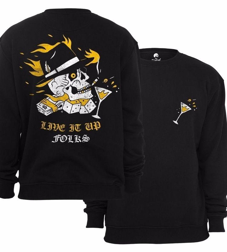 Crewneck sweatshirt /  - crewneck - roccomalatesta | ello
