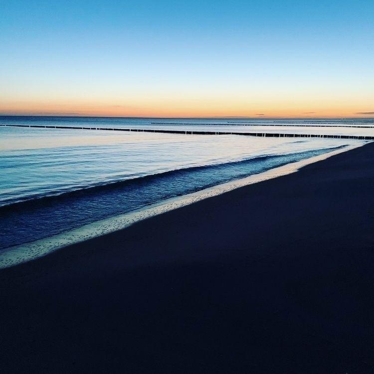 sunset, beach, balticsea, usedom - unmountable | ello