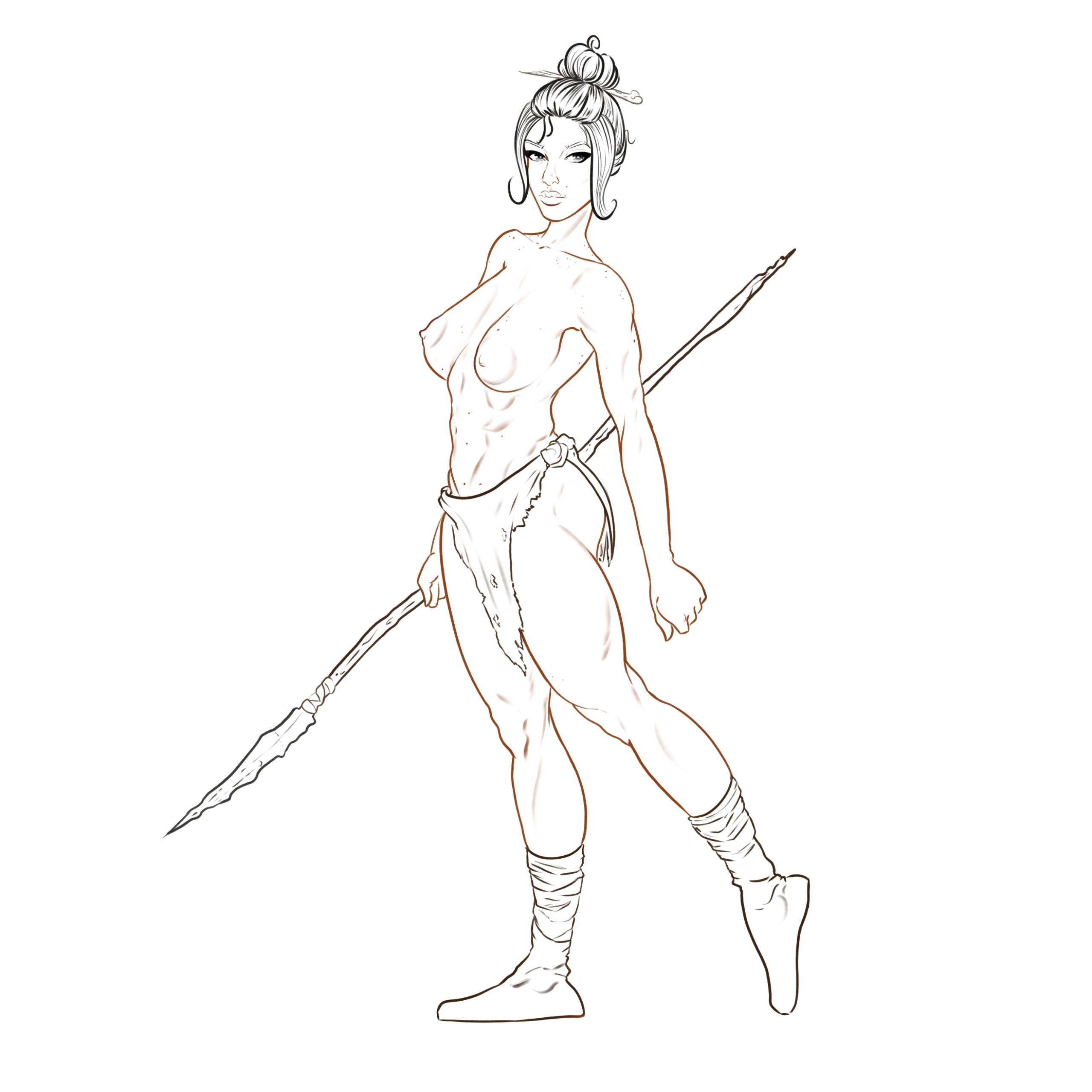 Digital sketch commission - drawing - tamhutart | ello