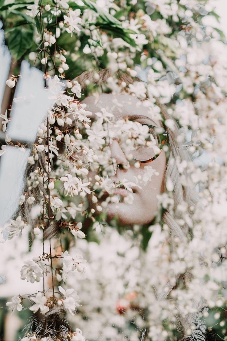 Garden Spirit portrait - prettymindflowers | ello