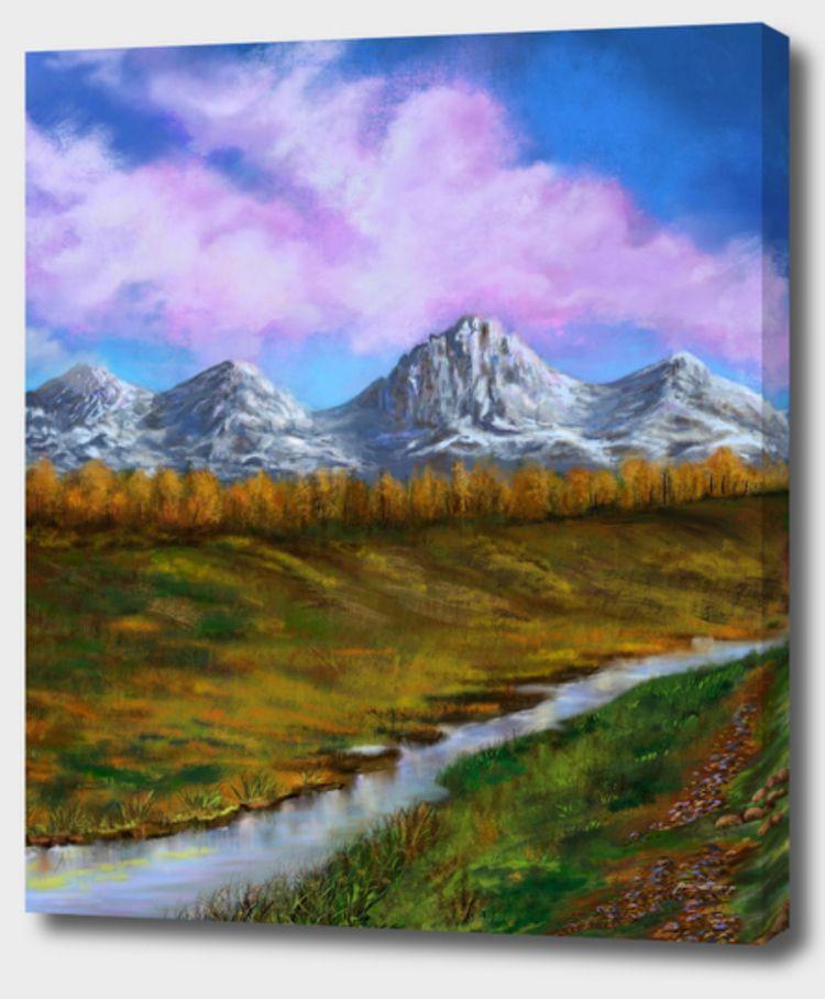 Creek Mountains - almanzart   ello