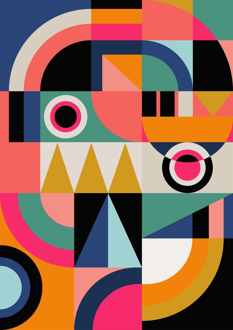 GRAPHIC - 13, digital, geometric - susanapaz | ello