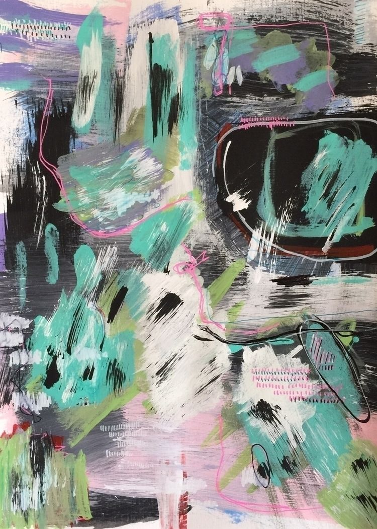 acrylic ballpoint canvas, 2020 - kelvinlords | ello