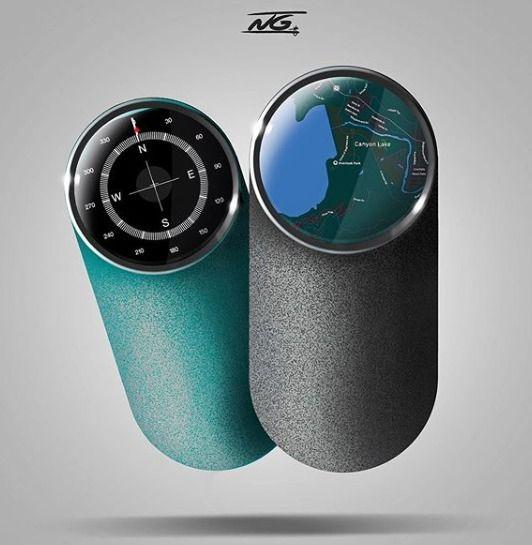 GPS Handheld device. Follow Ins - ello_design | ello