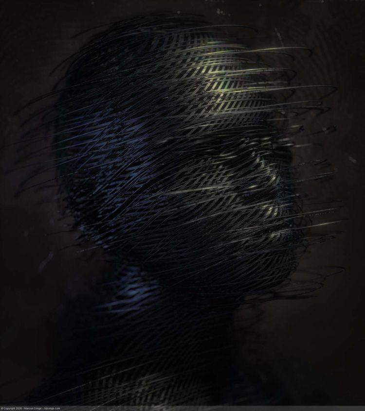 DaRkNesS - cinema4d, 3d, Octane - rockingthepixel | ello