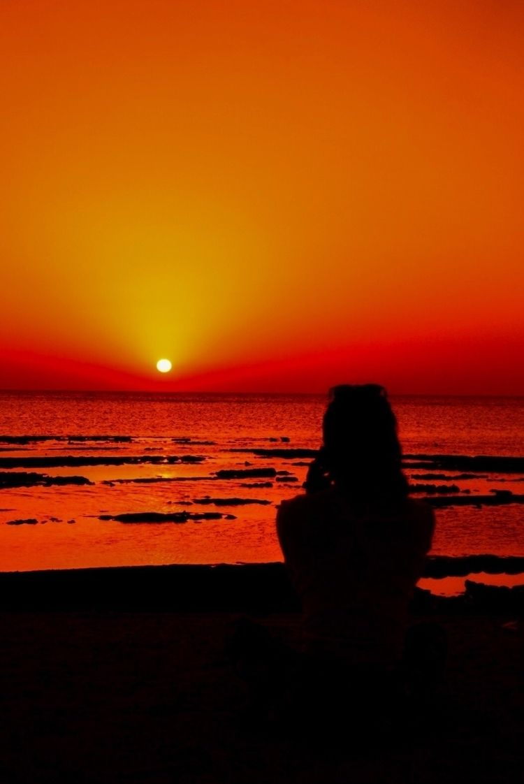 sunset, redsea, radiance - julian__clarke   ello