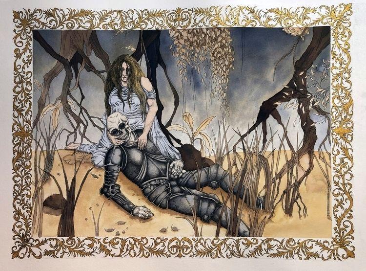 Inspired fairy tale Undine Frie - juliusllopis | ello