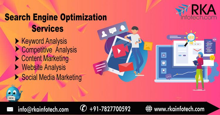 top SEO Services Agency India U - rkainfotech19 | ello