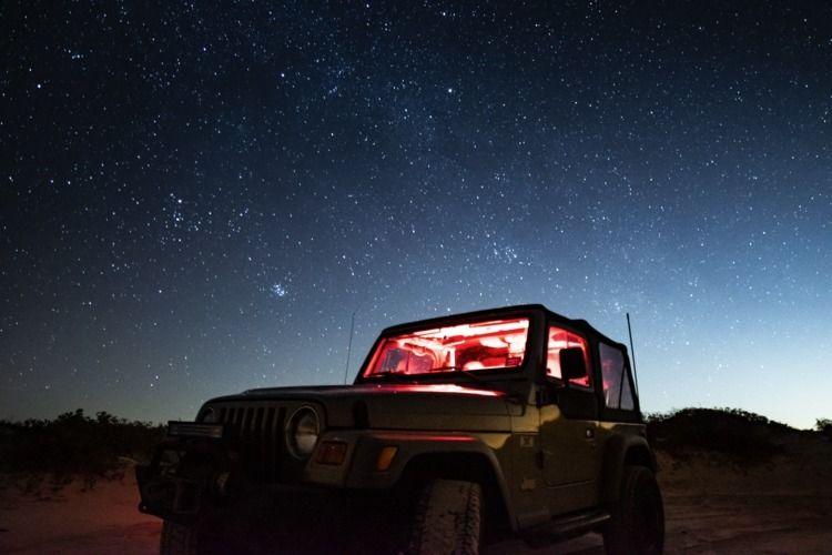 Jeep Nights - Stars, Astrophotography - dagomtz | ello