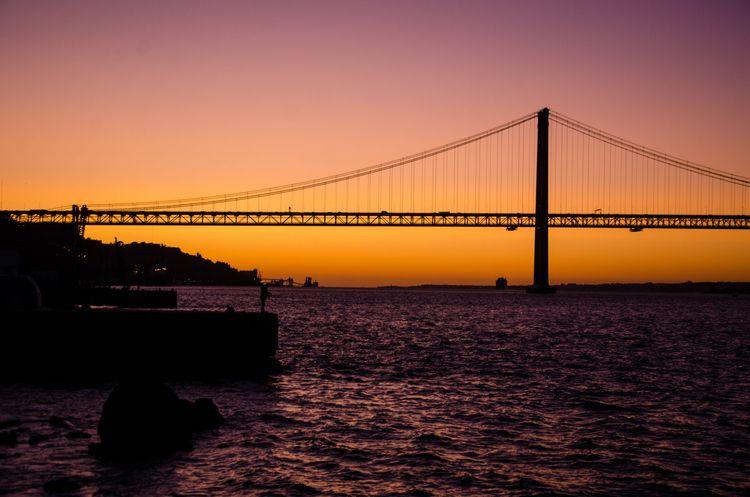 Sunset - sunset, bridge, photographyoftheday - olliveirageane | ello