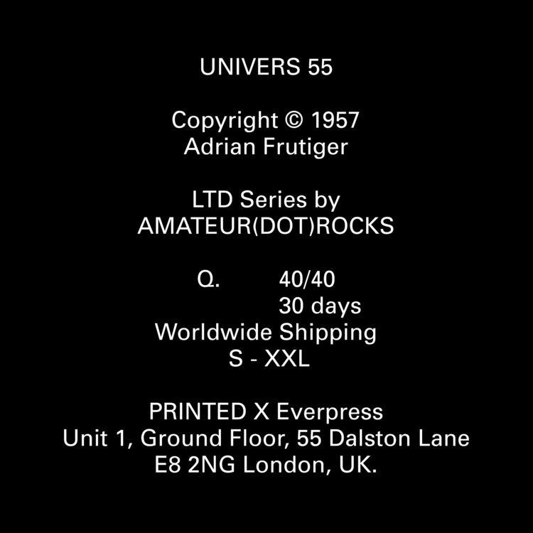 UNIVERS 55 ;) Copyright 1957 Ad - artlaynee | ello