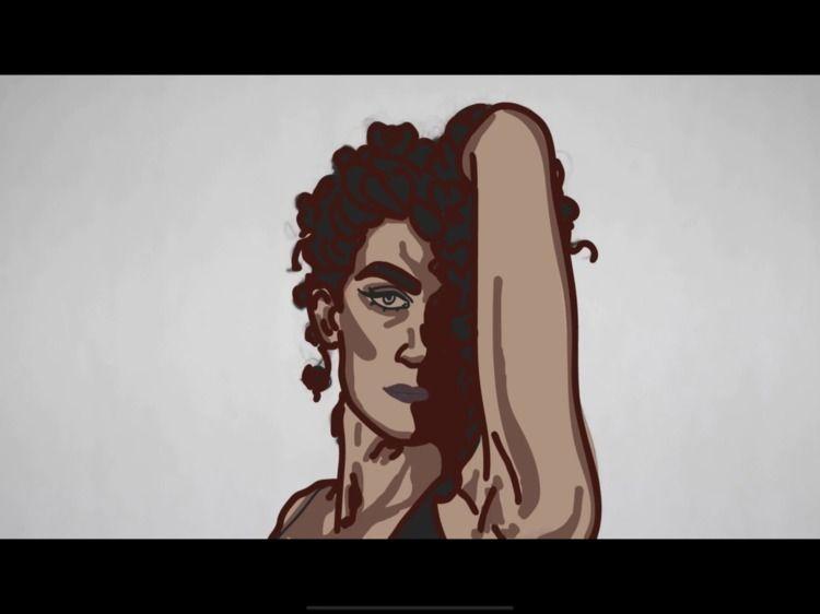 rotoscope animation year! Hope - celine_xuxa | ello