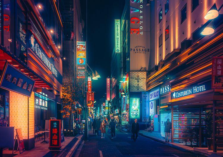 Glow III , 2020, Tokyo Japan. p - anthonypresley | ello