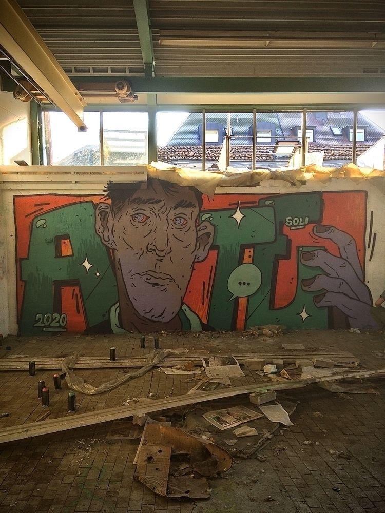 ate, atecrew, spray, graffiti - sidas_ate | ello