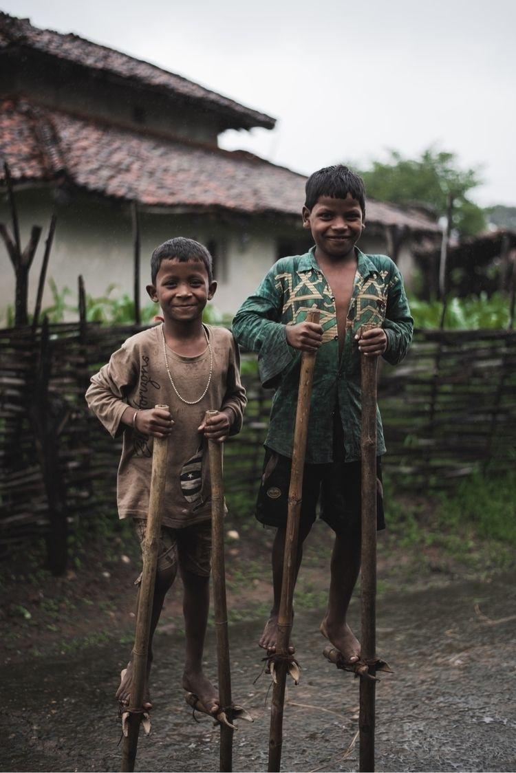Tribal children - charlesmanthan | ello