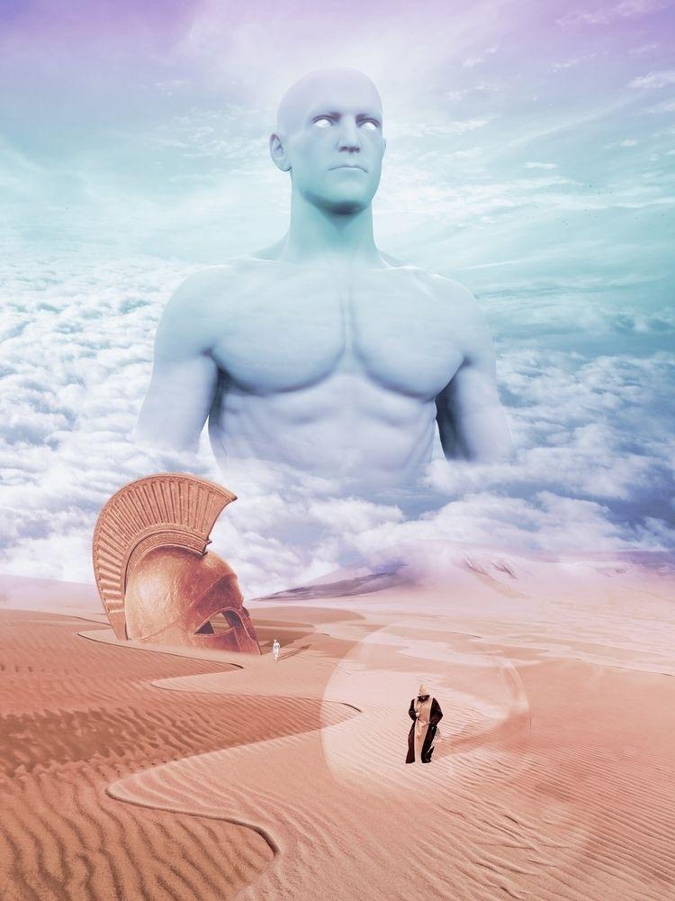 EGIDA (AEGIS). Digital art. Sur - archie55 | ello