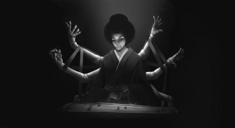 Geisha - scribblescratched | ello