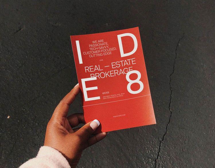 IDE8 Real Estate Brokerage Bran - humanastudio | ello
