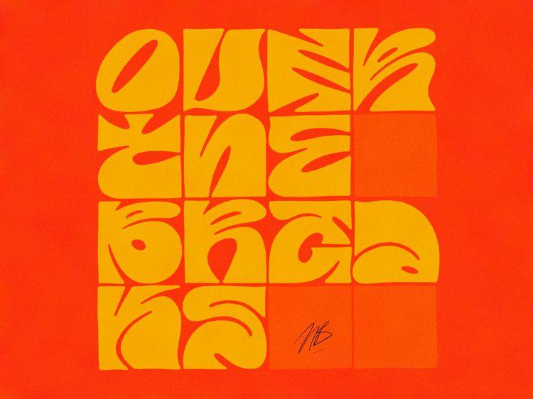 Breaks portfolio - typography, typedesign - nik__brovkin   ello