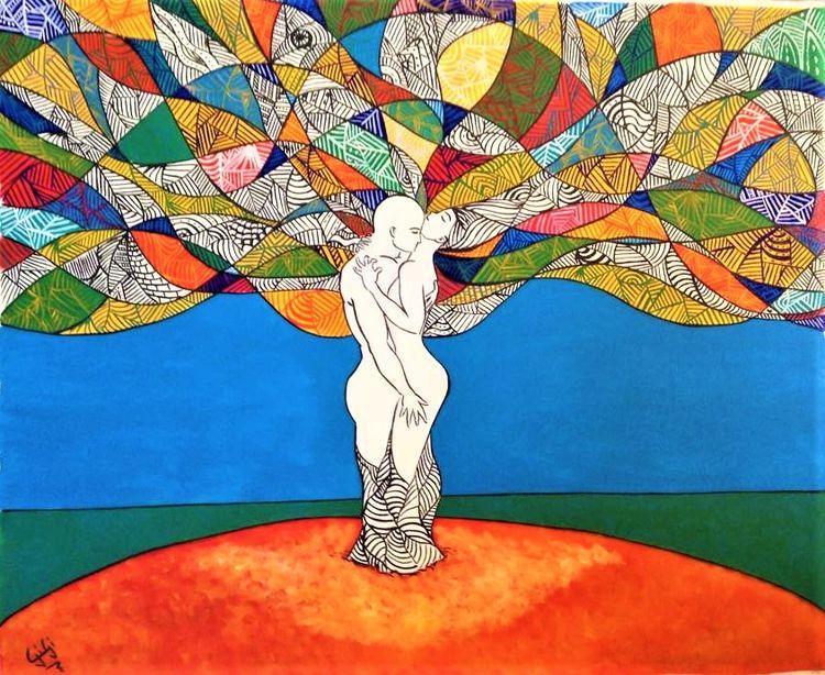 Love Acrylic canvas 160x90cm -  - gilaporta | ello
