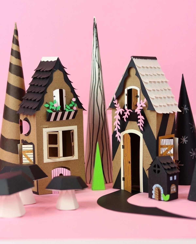 Paper houses - proyectoensamble | ello
