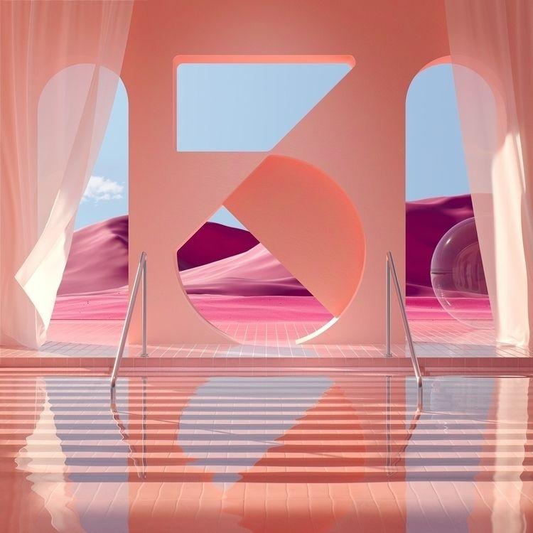 Number 3  - illustration, artdirection - danielmedina3d | ello