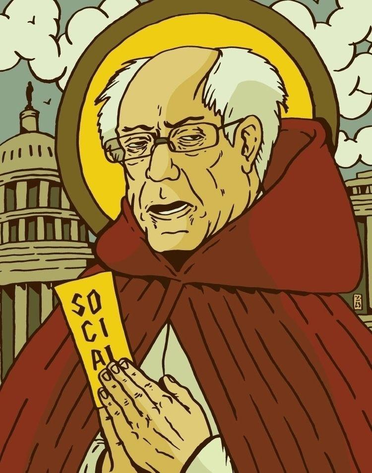 Saint Told Sanders - thomcat23   ello