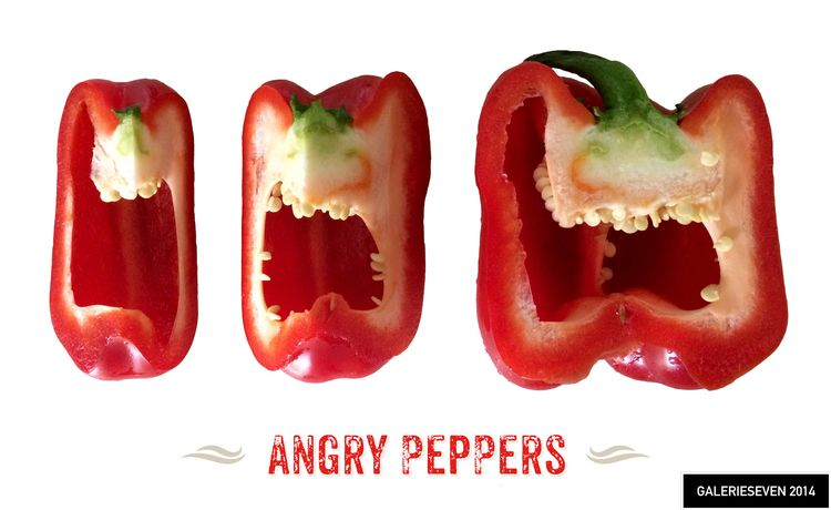 Angry Peppers - galerieseven | ello
