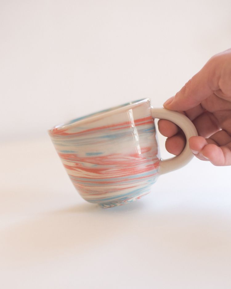 Marbled soft-paste porcelain cu - irynagarkusha | ello
