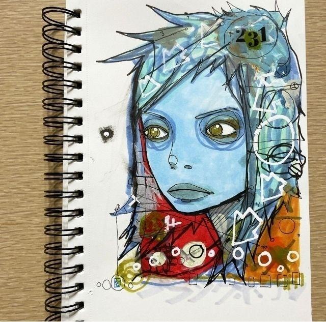 Morning sketchbook drawing Kind - aaronkraten | ello
