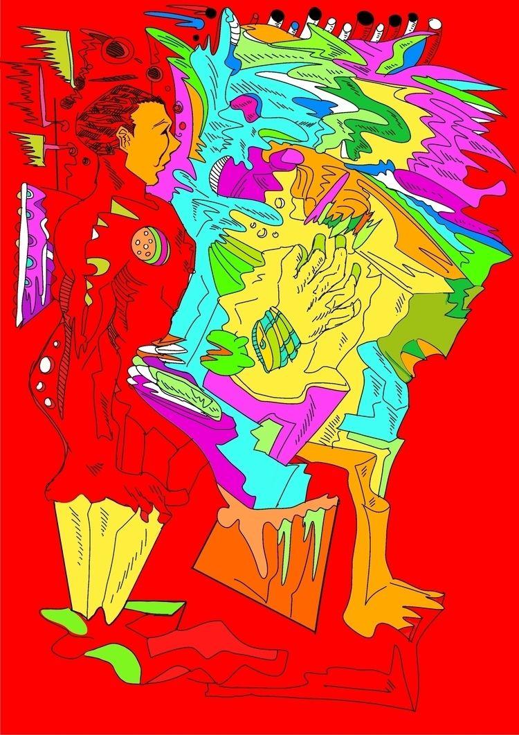 Surrealist automatism method ar - aohex | ello